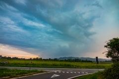 20 Agosto 2019 temporale intercettata nei pressi di Livorno Ferraris VC near Turin Italy Storm Chaser Storm Wind