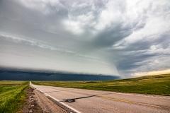 June 6 2020 Faith South Dakota Supercell and shelf cloud - Tornado Tour StormWind