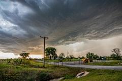 April 28 2020 severe thunderstorm supercell Rush Springs Oklahoma - Tornado Tour StormWind