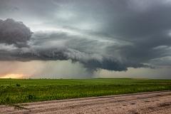 June 7 2020 Ashley North Dakota Supercell - Tornado Tour StormWind