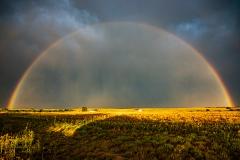 May 23 2020 Hedley Texas Rainbow - Tornado Tour StormWind