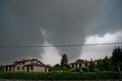 Temporale del 8 Giugno 2009 nel Canavese