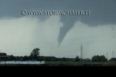 Tornado Temporale Supercella 6 Giugno 2009 Piemonte Vercelli
